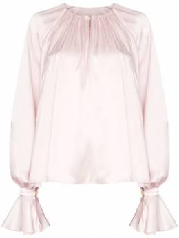 Roksanda блузка Pia с драпировкой AW19B7112