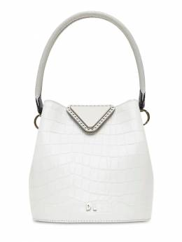 Xs Josh Croc Embossed Leather Bag Danse Lente 70IXEG006-SUNF0