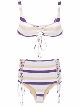 Amir Slama striped bikini set 10778