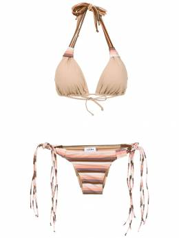 Amir Slama striped bikini set 10708