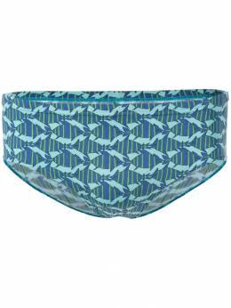 Hermes плавки с принтом рыб 130296