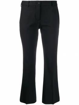 Alberto Biani укороченные брюки строгого кроя CC815WO0241