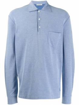 Holland&Holland рубашка-поло с длинными рукавами MKNI801EK009