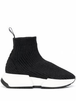 Mm6 Maison Margiela кроссовки Runner на шнуровке S40WS0121P1458