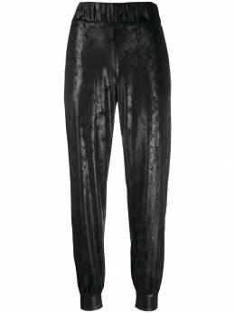 No Ka' Oi брюки с эффектом металлик P3CPTNOKW71249A0
