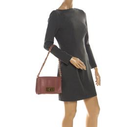 Fendi Old Rose Leather Claudia Shoulder Bag 219861
