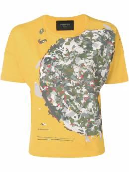 Mr & Mrs Italy футболка с камуфляжным принтом TS146E