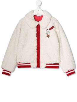 Dolce & Gabbana Kids шуба из искусственного меха L5JBI8FUP10