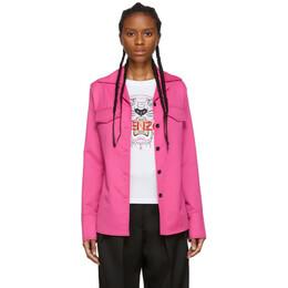 Kenzo Pink Wool Jacket F962CH0045AH