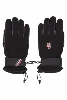 Перчатки из технологичной ткани Moncler 34149583
