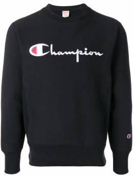 Champion толстовка с вышитым логотипом 212576