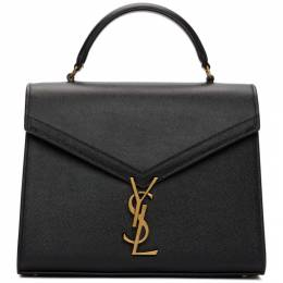 Saint Laurent Black Medium Cassandra Top Handle Bag 578000 BOWNW