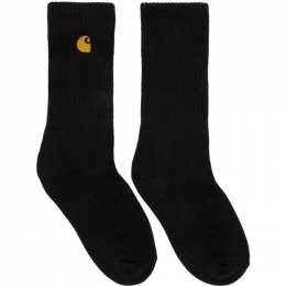 Carhartt Work In Progress Black Chase Socks I026527 8990