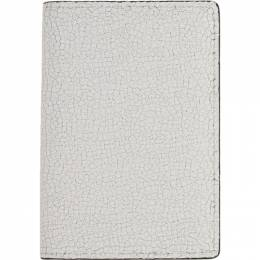 Common Projects White Cracked Folio Wallet 9134