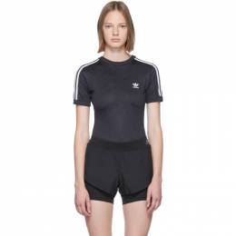Adidas Originals Black Logo Bodysuit 192751F28400305GB