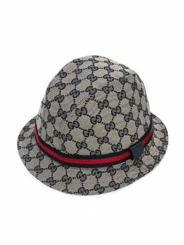 Gucci Kids шляпа с логотипом GG 4117904HD09