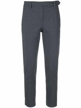 Brunello Cucinelli укороченные брюки строгого кроя M0W07P6572C4078