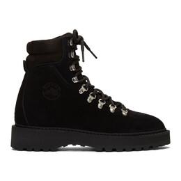 Diemme Black Suede Monfumo Boots DI1807MF10