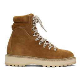 Diemme Brown Suede Monfumo Boots DI1907MF02