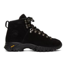 Diemme Black Suede Maser Boots DI1901MH01