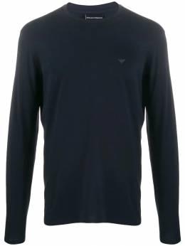 Emporio Armani футболка с длинными рукавами и логотипом 8N1T811J0AZ