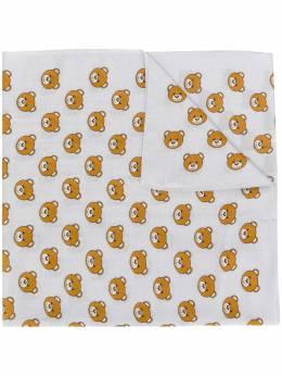 Moschino шарф с принтом Teddy Bear 50114M5259