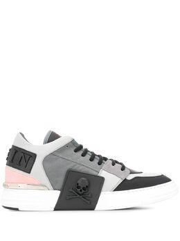 Philipp Plein кроссовки с металлическим логотипом F19SMSC2267PTE029N