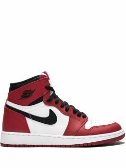 Nike Kids высокие кроссовки Air Jordan 1 Retro High OG 575441101