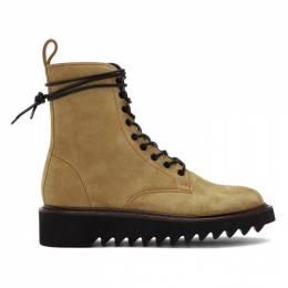 Giuseppe Zanotti Design Beige Nevada Boots IU90024 82163
