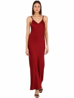 Платье Из Вискозного Атласа Haider Ackermann 70IA7U007-MDM50