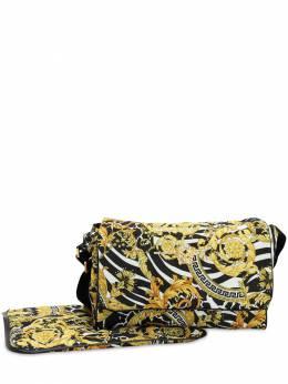 Сумка Для Пеленания Из Нейлона С Принтом Versace 70I2H2020-WVM0Mlo1