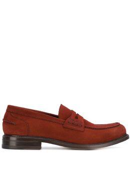 Berwick Shoes классические лоферы-слипон 4821H0236