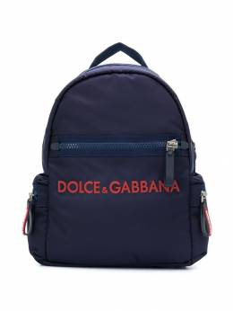 Dolce & Gabbana Kids рюкзак с вышивкой EM0082A9416