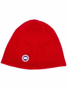 Canada Goose - шапка бини с вышитым логотипом 6M955593530000000000