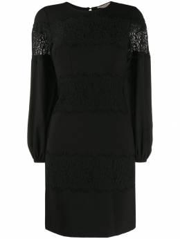 Twin-Set платье А-силуэта с кружевными вставками 192TT2211