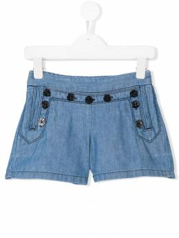 Chloe Kids джинсовые шорты C14530