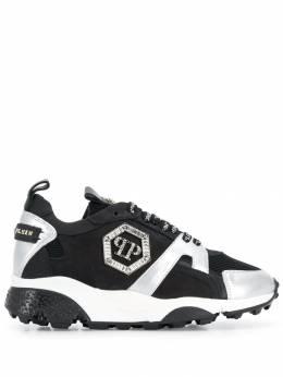 Philipp Plein двухцветные кроссовки A19SWSC1598PCO026N