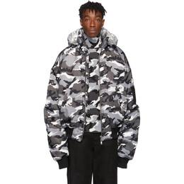Juun.J Reversible Black and Silver Winter Jacket JC9839H115