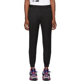 Juun.J Black Wool Tapered Trousers JC9821H115