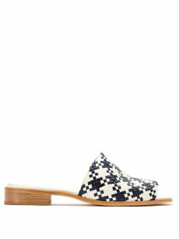 Sarah Chofakian leather mules TRAMARASTFACH