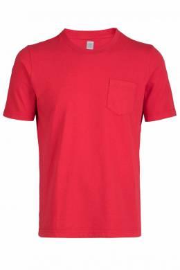 Красная футболка с карманом Eleventy 2014149784