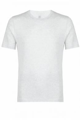 Серая хлопковая футболка Eleventy 2014149756