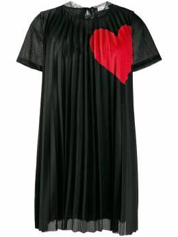 Red Valentino платье-трапеция с принтом SR3MJ02C4D0