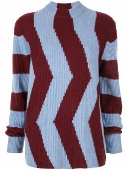 Ck Calvin Klein приталенный свитер в стиле колор-блок 054WW83926GBR