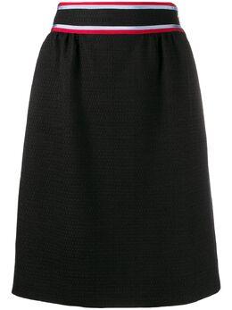 Gucci юбка мини в полоску 569014ZABID