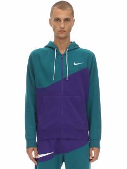 Спортивная Куртка Из Смешанного Хлопка Nike 70IVSY047-NTQ30