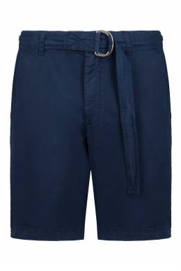 Синие шорты до колен Eleventy 2014150222