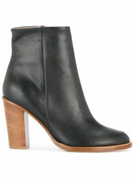 Ports 1961 calf leather ankle boots PW318ZBO02UCFN148