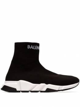 Balenciaga кроссовки-носки Speed 549823W1P20