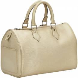 Louis Vuitton Beige Epi Leather Speedy 25 Bag 223796